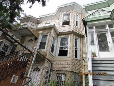 Yonkers Multi Family 2-4 For Sale: 95 Palisade Avenue
