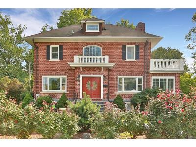 Dobbs Ferry Single Family Home For Sale: 22 Fairlawn Avenue