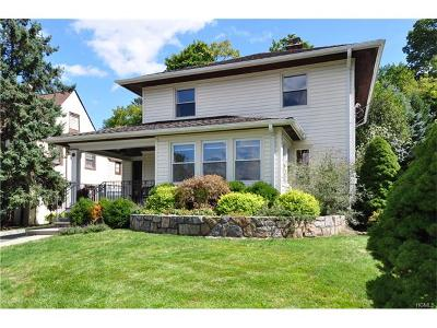 Dobbs Ferry Single Family Home For Sale: 71 Bellewood Avenue