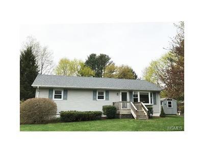 Westbrookville Single Family Home For Sale: 3 Elm Street