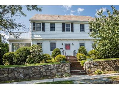 Bronxville Single Family Home For Sale: 1 Central Drive