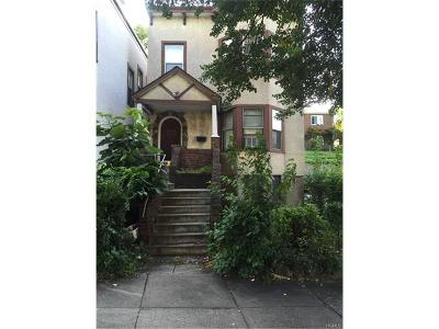 Yonkers Multi Family 2-4 For Sale: 129 Park Hill Avenue