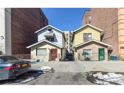 Bronx Residential Lots & Land For Sale: 3921-3923 Carpenter Avenue