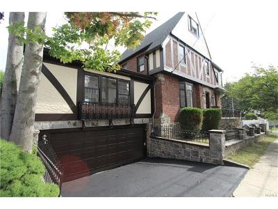 Yonkers Single Family Home For Sale: 116 Vernon Avenue