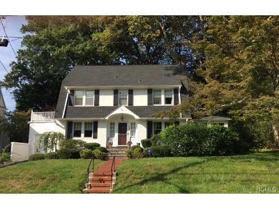 Bronxville Single Family Home For Sale: 123 Ellison Avenue