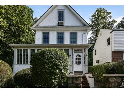 Scarsdale Single Family Home For Sale: 7 Wright Place