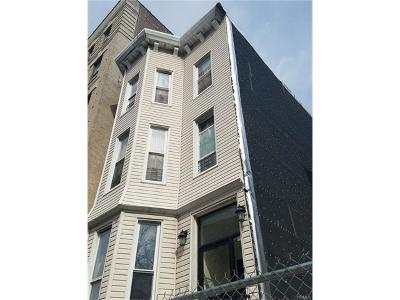 New York Multi Family 2-4 For Sale: 527 West 173 Street