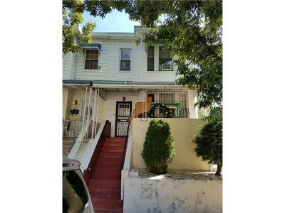 Bronx Single Family Home For Sale: 3426 Edson Avenue