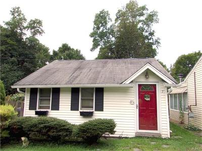 Greenwood Lake Single Family Home For Sale: 7 Orchard Street