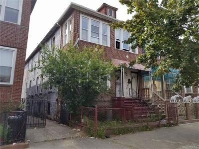 Bronx Multi Family 2-4 For Sale: 1333 Commonwealth Avenue