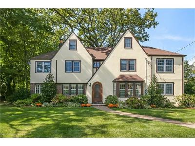 Scarsdale NY Single Family Home For Sale: $1,599,000