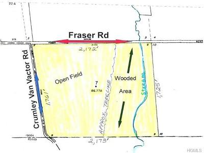 Residential Lots & Land For Sale: Fraser & Crumly Van Vactor Road