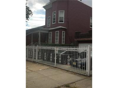 Bronx NY Multi Family 2-4 For Sale: $900,000