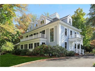 Scarsdale NY Single Family Home For Sale: $2,299,000