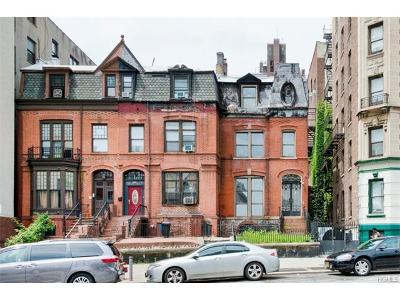 Manhattan Multi Family 2-4 For Sale: 887 Saint Nicholas Avenue