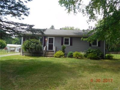 Westbrookville Single Family Home For Sale: 6 Oak Circle