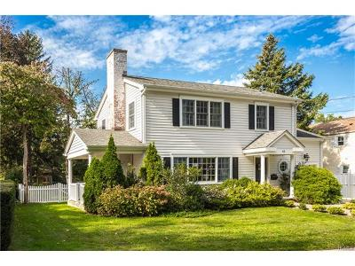Bronxville Single Family Home For Sale: 65 Millard Avenue
