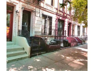 New York Multi Family 2-4 For Sale: 509 West 150th Street