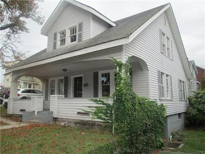 Port Jervis Single Family Home For Sale: 105 Fowler Street