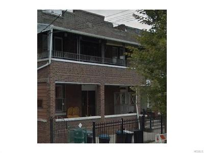 Bronx Multi Family 2-4 For Sale: 2760 Barnes Avenue