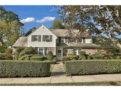 Yonkers Single Family Home For Sale: 9 Aka 5 Berkshire Road
