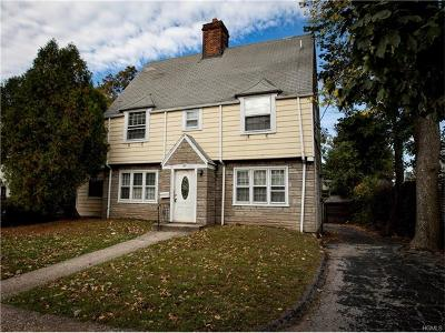 New Rochelle Single Family Home For Sale: 27 Marvin Place