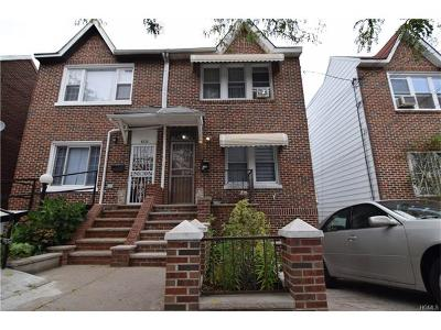 Bronx Single Family Home For Sale: 4230 Boyd Avenue