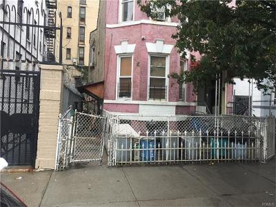 Bronx Multi Family 2-4 For Sale: 881 Longfellow Avenue