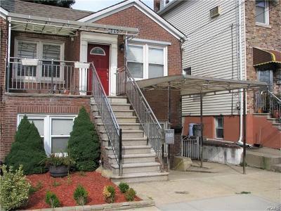 Bronx Multi Family 2-4 For Sale: 1840 Tomlinson Avenue
