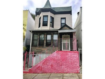 Bronx Single Family Home For Sale: 1433 Saint Lawrence Avenue