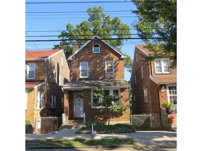 Bronx Single Family Home For Sale: 6028 Liebig Avenue