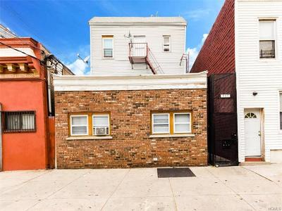 Bronx Multi Family 2-4 For Sale: 537 Van Nest Avenue