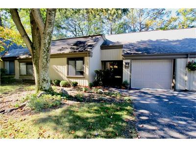 Westchester County Condo/Townhouse For Sale: 451 Heritage Hills #C