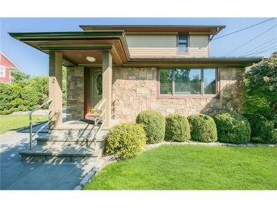 Westchester County Single Family Home For Sale: 232 Grant Terrace