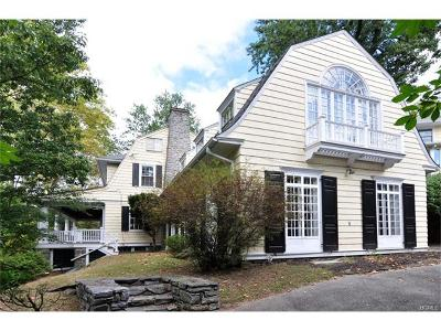 Dobbs Ferry Single Family Home For Sale: 26 Magnolia Drive