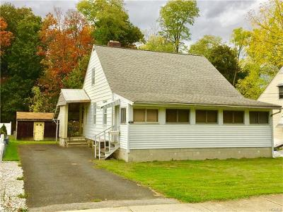 Cornwall NY Single Family Home Sold: $145,000