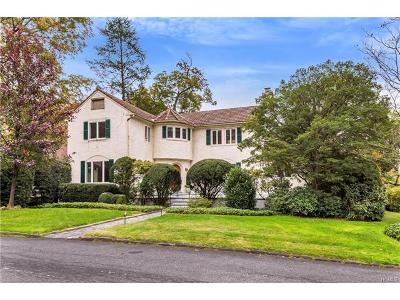 Bronxville Single Family Home For Sale: 112 Ellison Avenue
