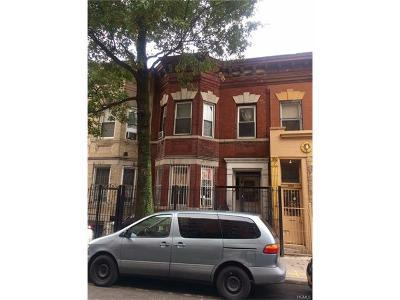 Bronx Multi Family 2-4 For Sale: 2271 Walton Avenue