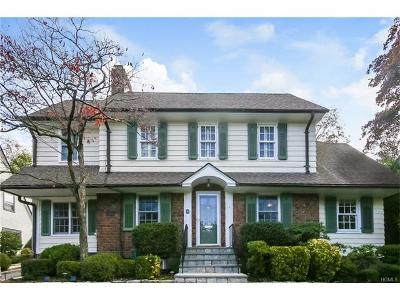 Scarsdale Single Family Home For Sale: 16 Ridgecrest West