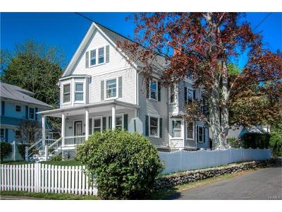 Nyack Single Family Home For Sale: 254 Piermont Avenue