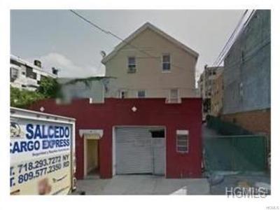 Yonkers Multi Family 2-4 For Sale: 132 Oak Street