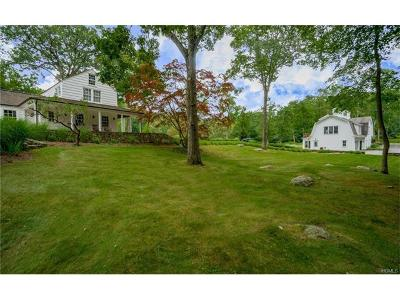 Pound Ridge Single Family Home For Sale: 33-35 Siscowit Road