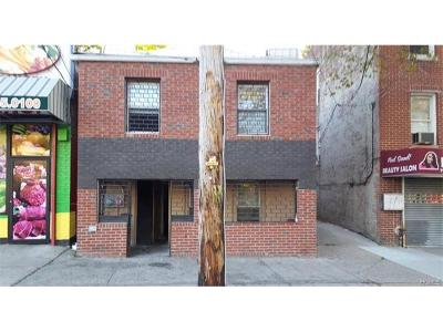 Single Family Home For Sale: 2466 Williamsbridge Road