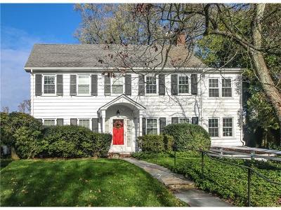 Scarsdale Single Family Home For Sale: 21 Mount Joy Avenue