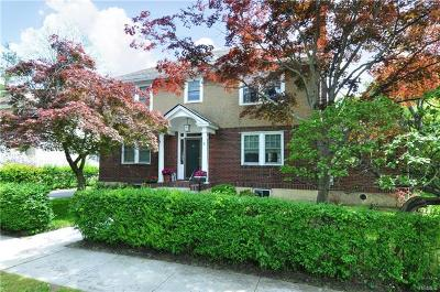 Hastings-on-hudson Single Family Home For Sale: 8 Travis Place