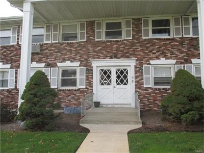 Nanuet Condo/Townhouse Sold: 9 Normandy Village #8