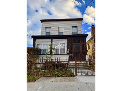 Bronx Multi Family 2-4 For Sale: 2136 Strang Avenue