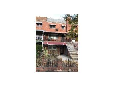Bronx Multi Family 2-4 For Sale: 4032 Baychester Avenue