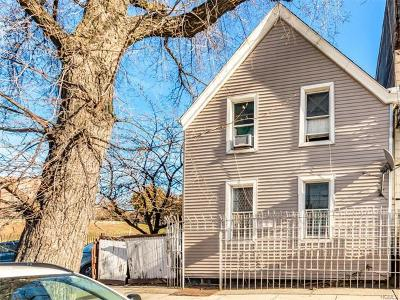 Bronx Single Family Home For Sale: 482 East 181st Street