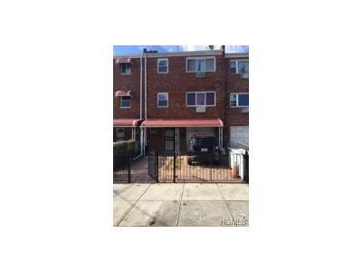 Bronx Multi Family 2-4 For Sale: 4445 Seton Avenue